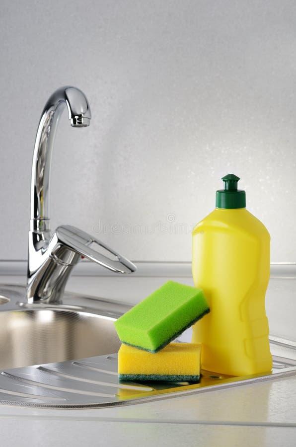 Dishwashing стоковые фото