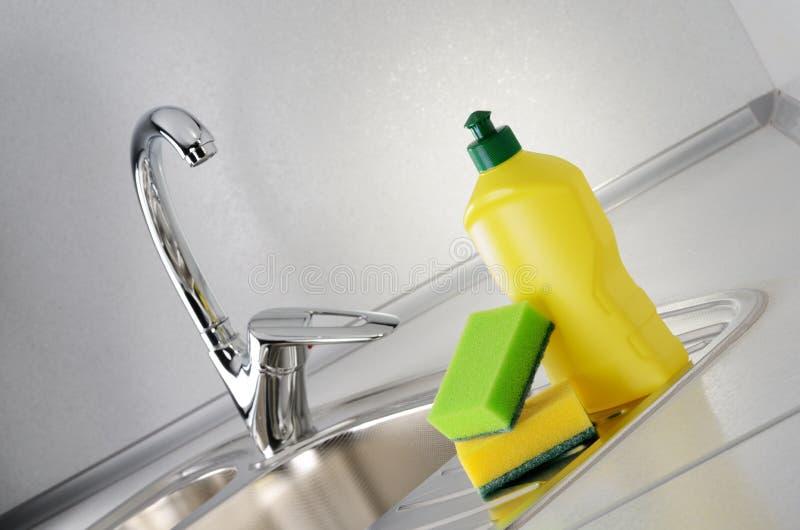 Dishwashing стоковое фото