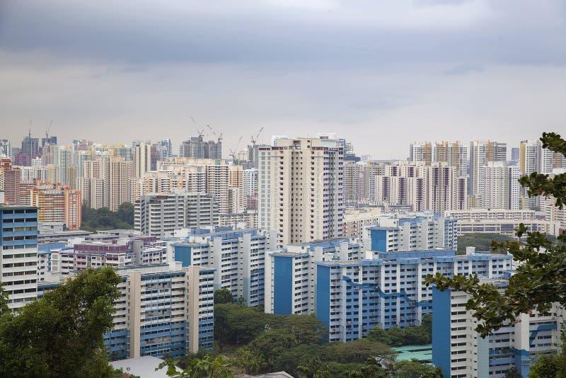 Жилой массив Сингапура стоковое изображение rf