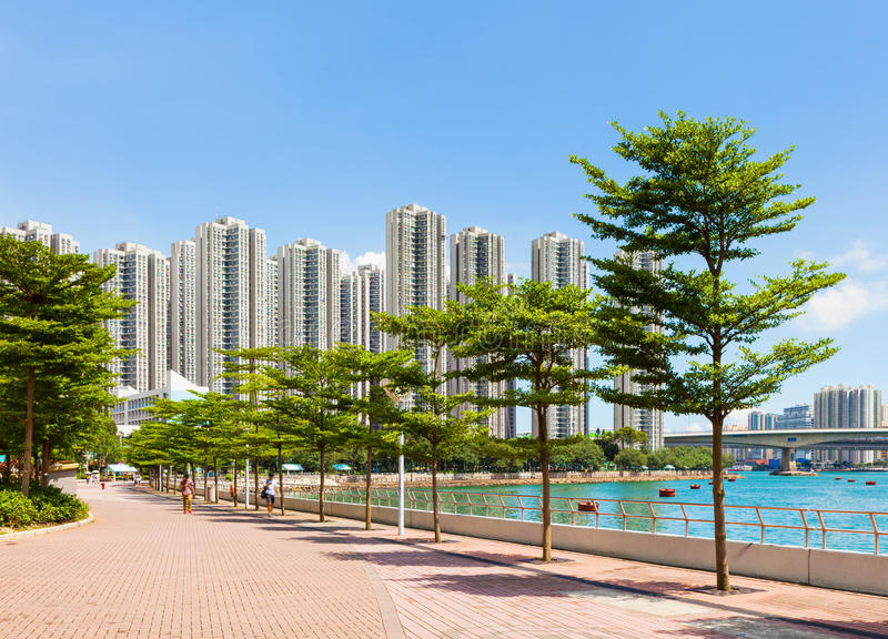 Download Жилой район в Гонконге стоковое изображение. изображение насчитывающей селитебно - 33737819