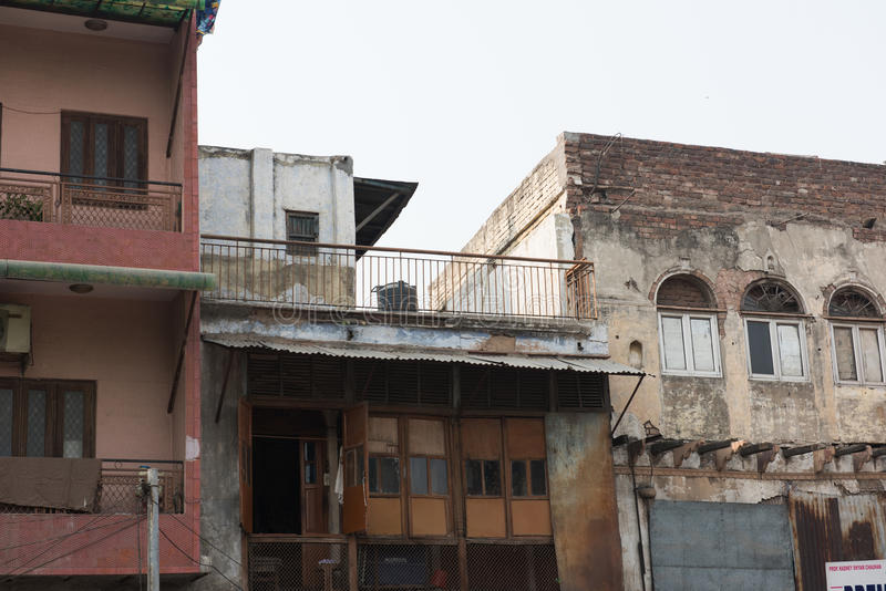 Жилые комплексы в Дели стоковая фотография rf