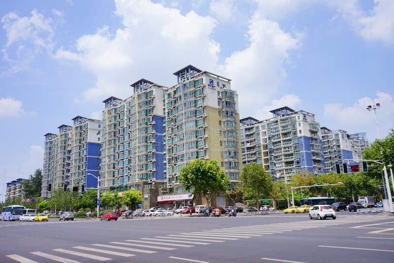 Жилые дома в Нанкине стоковые фото
