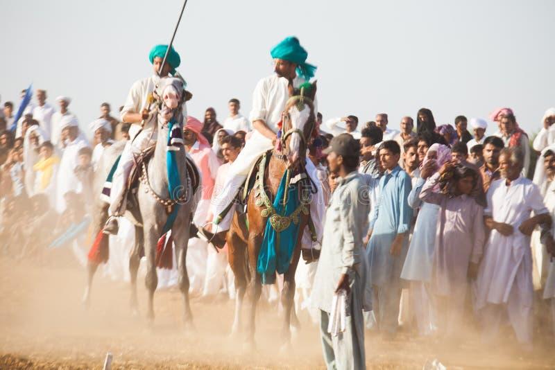 Жокеи на лошадях стоковое фото rf