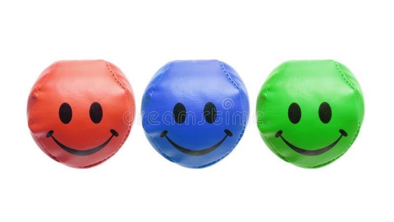 Жонглируя шарики стоковые фото