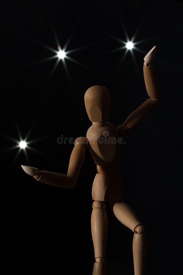 Жонглировать Bokeh стоковое фото rf