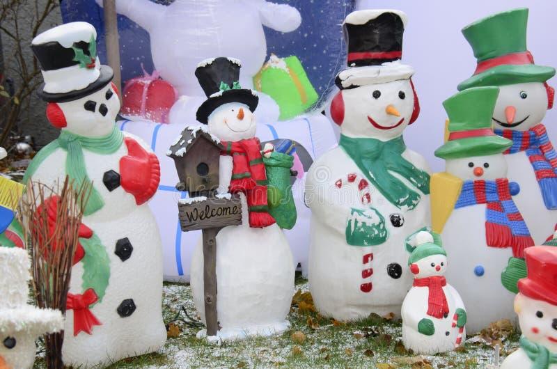 Ждать реальный снег стоковая фотография