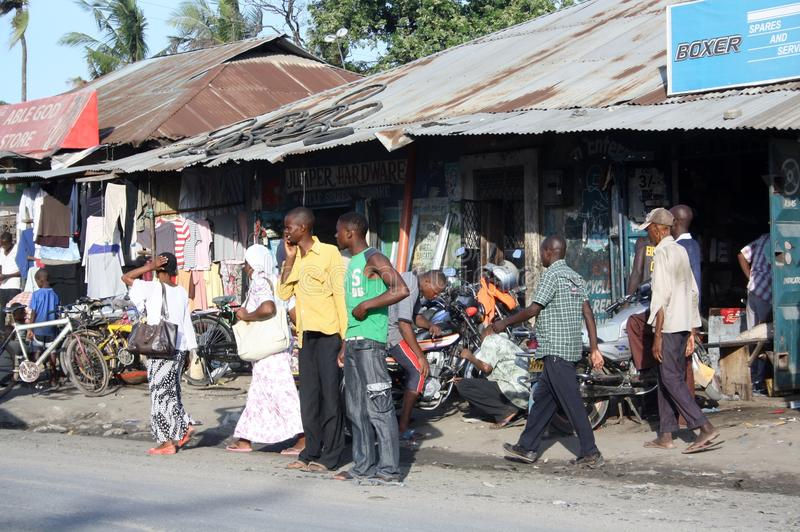 Ждать matatu mombasa стоковое фото rf