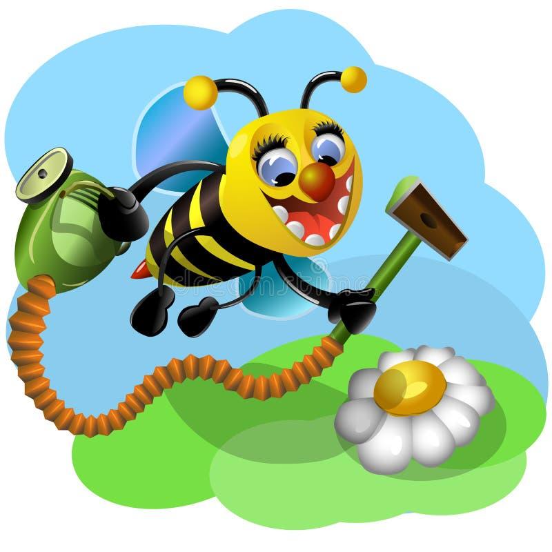 Забавн-пчела пчела смешная бесплатная иллюстрация