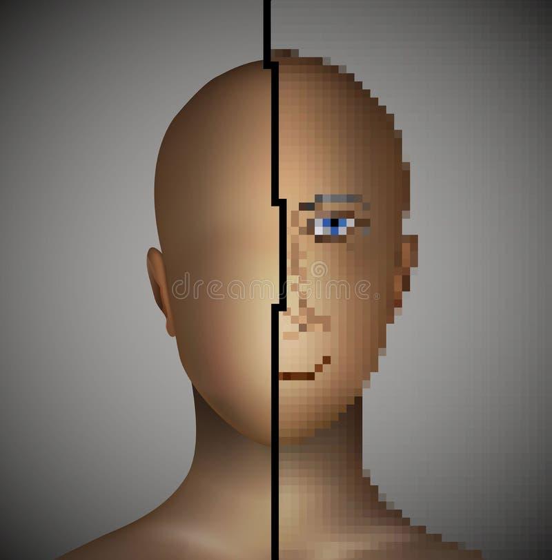 Заболевание проблемы шизофрении умственное, бесплатная иллюстрация