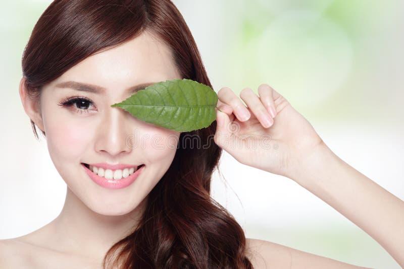 Забота кожи и органические косметики стоковое изображение rf