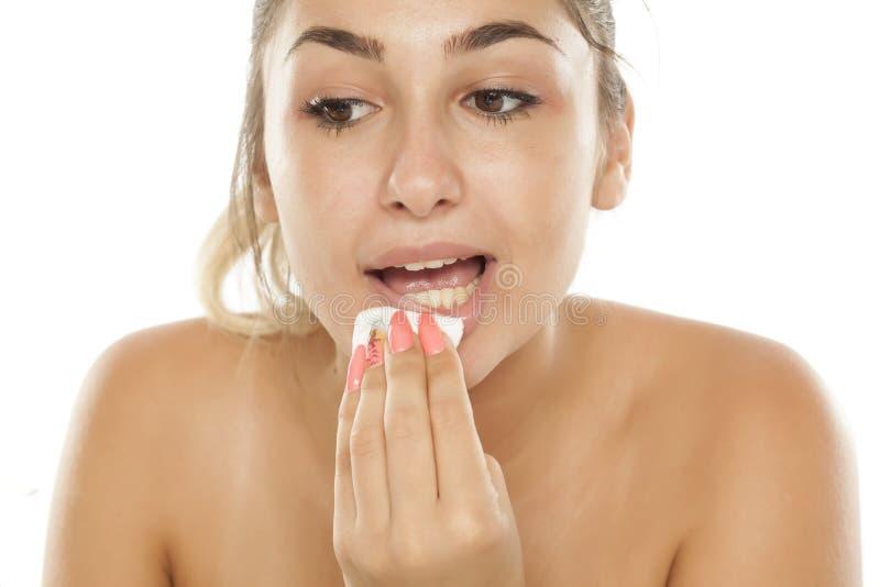 Забота кожи - чистка стоковое фото rf