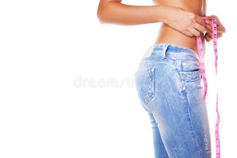 Забота тела женщины стоковое изображение rf
