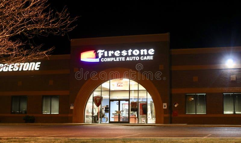 Забота Firestone полная автоматическая стоковая фотография rf