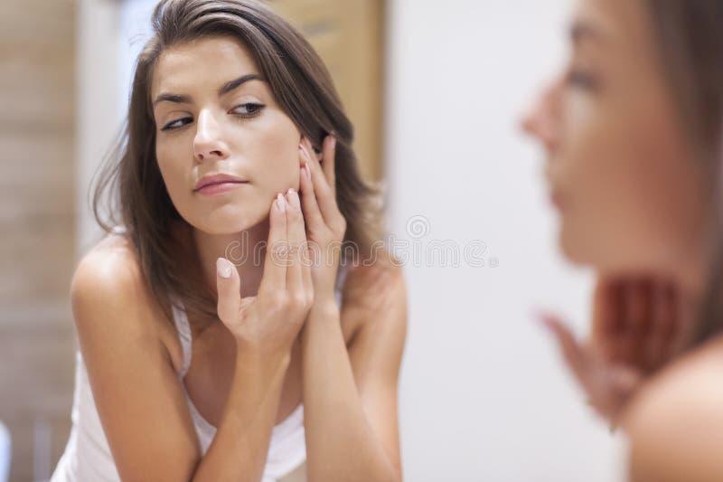 Заботить кожи стоковое фото rf