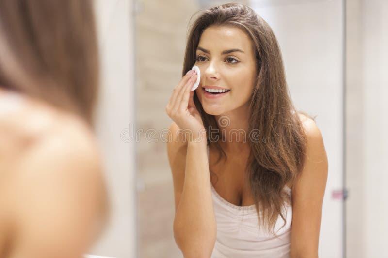 Заботить кожи стоковые изображения