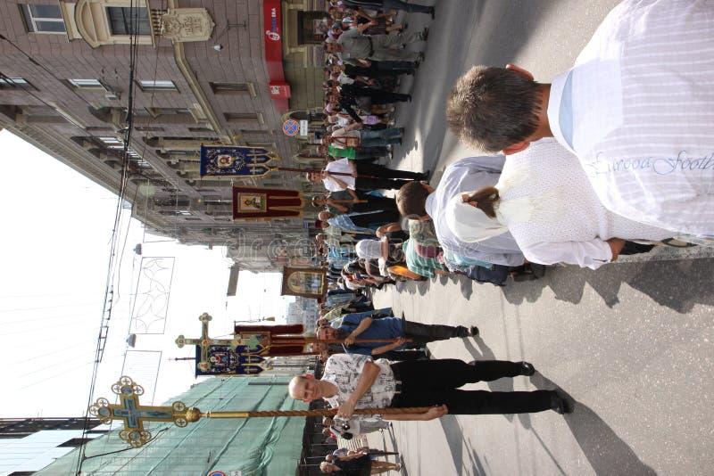 заботя шествие иконы стоковая фотография rf