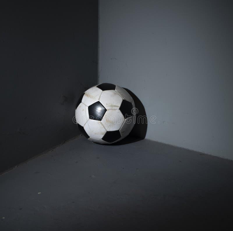 Забыл bal футбола стоковые фото