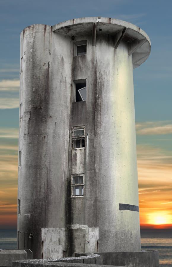 Забытая башня стоковое изображение rf