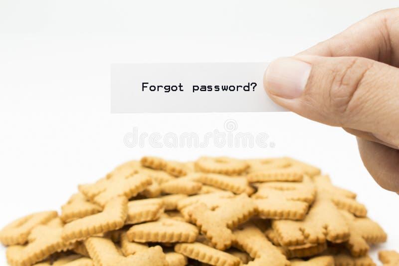 Забыл пароль стоковые фотографии rf