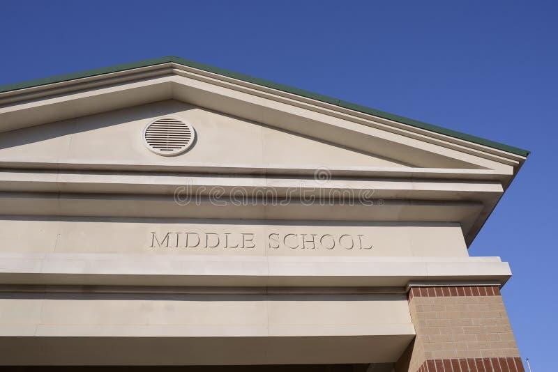 Заведение средней школы учить стоковое фото