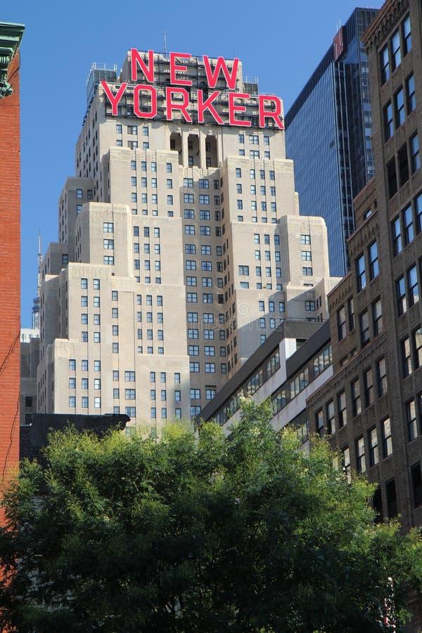 заведение New York стоковое фото rf