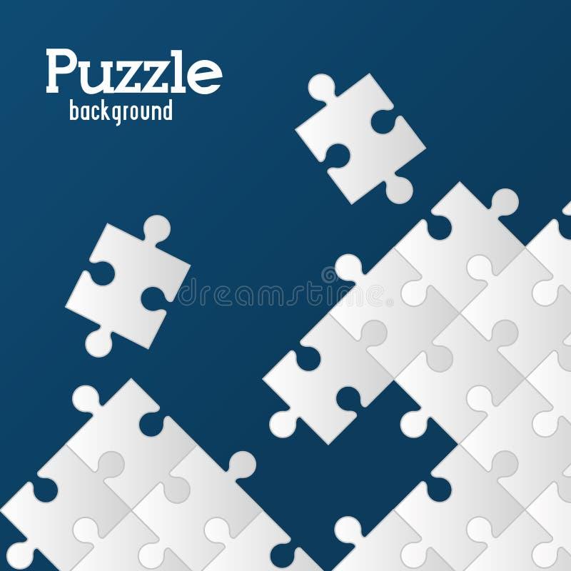 завершенная 7x7 головоломка иллюстрации конструкции просто иллюстрация штока
