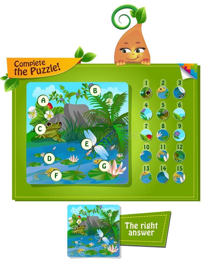 Завершите насекомых 2 головоломки бесплатная иллюстрация