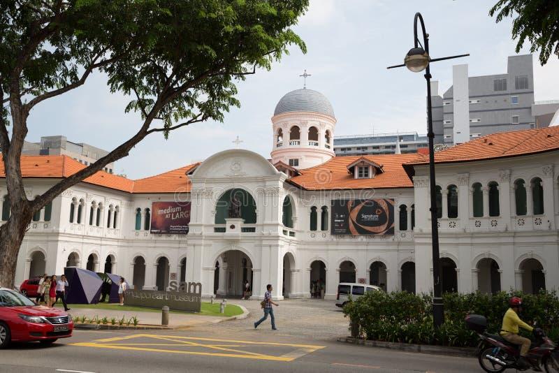 Заведение St Joseph здания в Сингапуре стоковое изображение