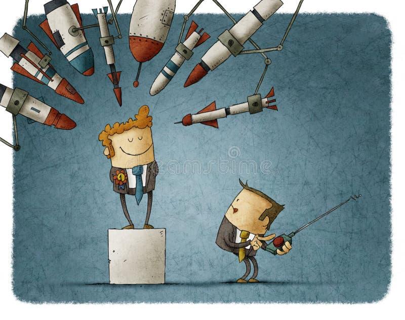 Завистливость на работе иллюстрация штока