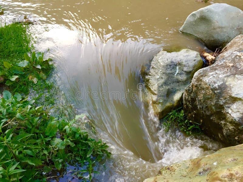 завихряясь вода стоковая фотография