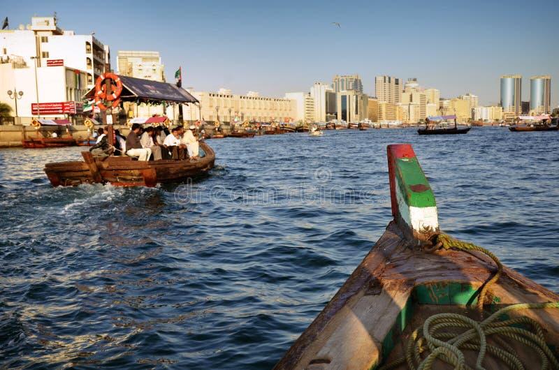 заводь Дубай UAE стоковые изображения rf