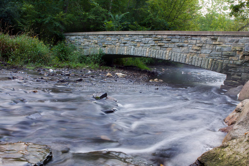 заводь моста стоковое фото rf