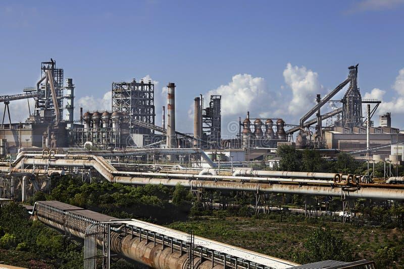 Завод металлургии стоковое изображение rf