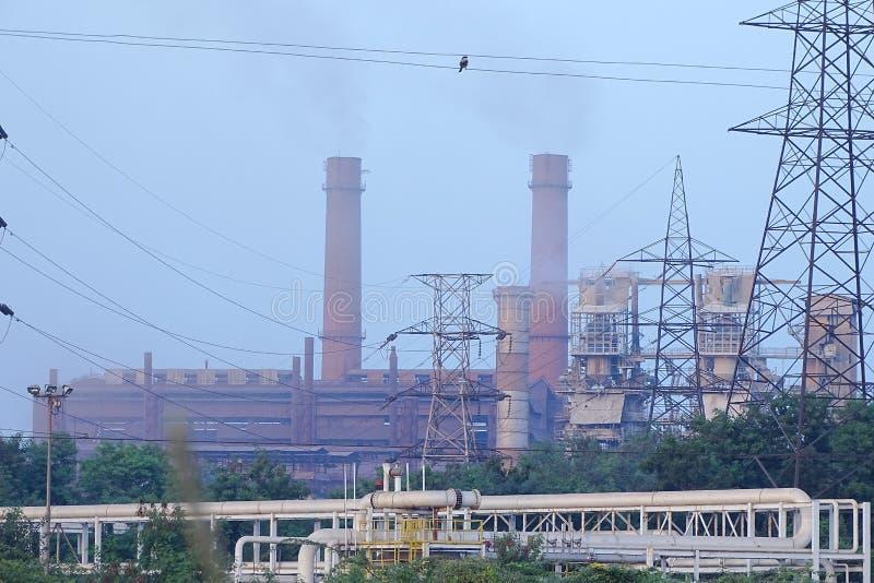 Завод по изготовлению стали Bhilai, Bhilai Chhattishgarh стоковое изображение rf