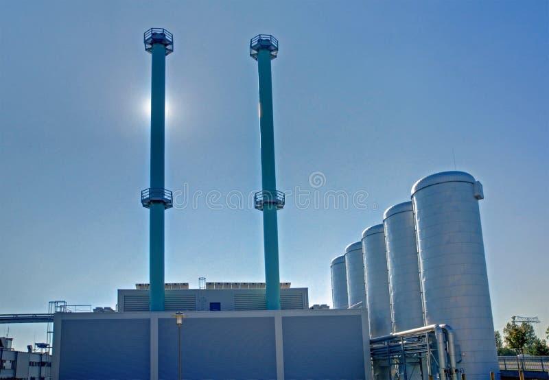 завод энергии общины стоковые фото