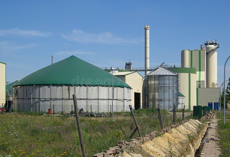 Завод 19 Biogas стоковые фото