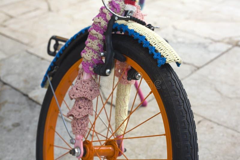 Заволакивание велосипеда стоковое изображение