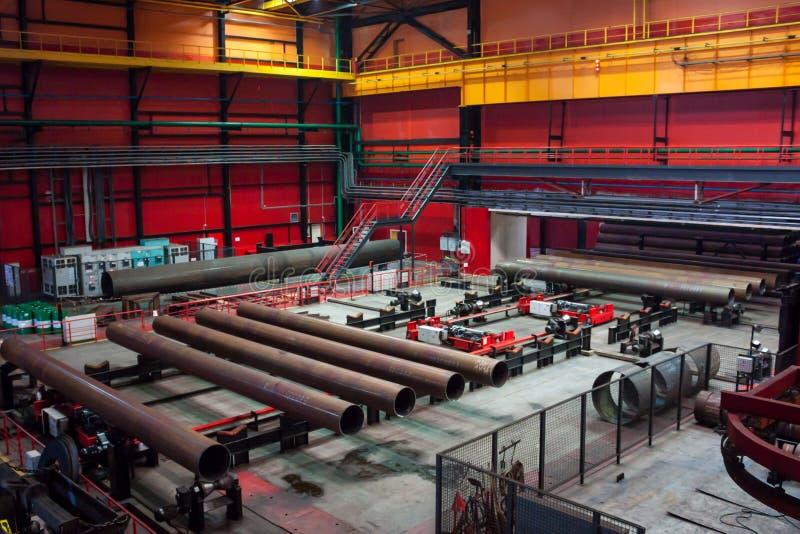 Завод завальцовки трубки стоковая фотография rf