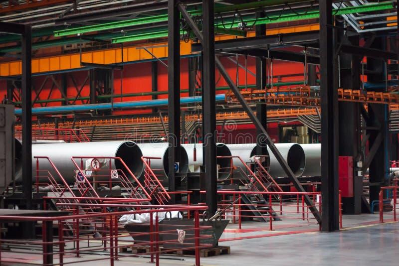 Завод завальцовки трубки стоковые изображения rf