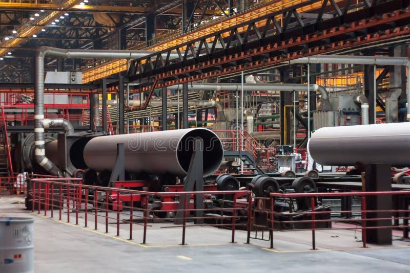 Завод завальцовки трубки стоковое фото rf