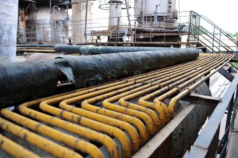 Завод индустрии стоковые фотографии rf