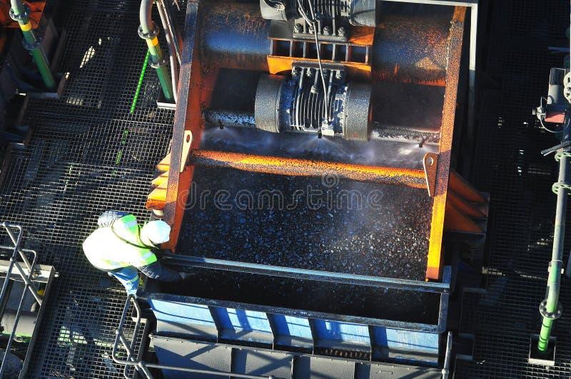 Завод мытья угля стоковая фотография rf