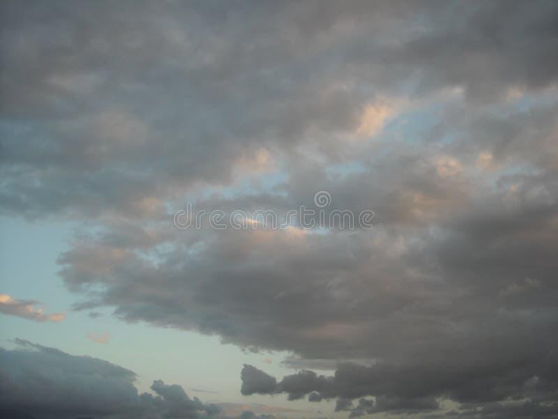 заволоките небо стоковая фотография