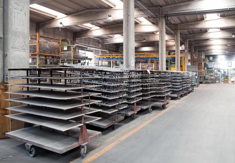 Завод покрытия стоковая фотография