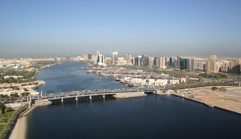 заводь Дубай стоковая фотография rf