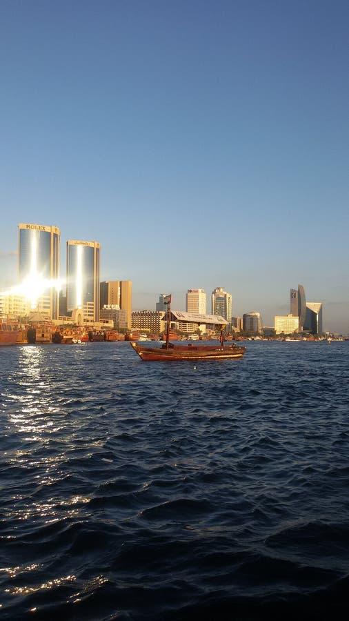 заводь Дубай стоковое фото