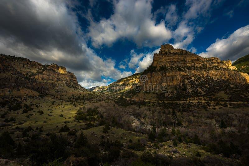 Заводь Leigh, 10 сон, каньон стоковые изображения rf