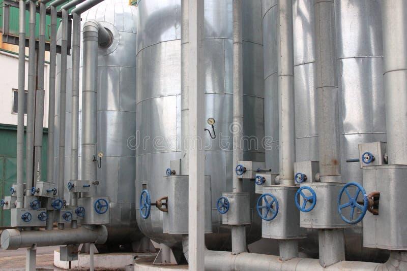 Завод этанола стоковые фото