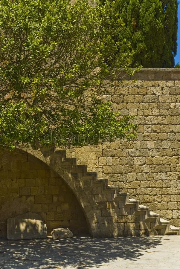 загадочные лестницы стоковые изображения
