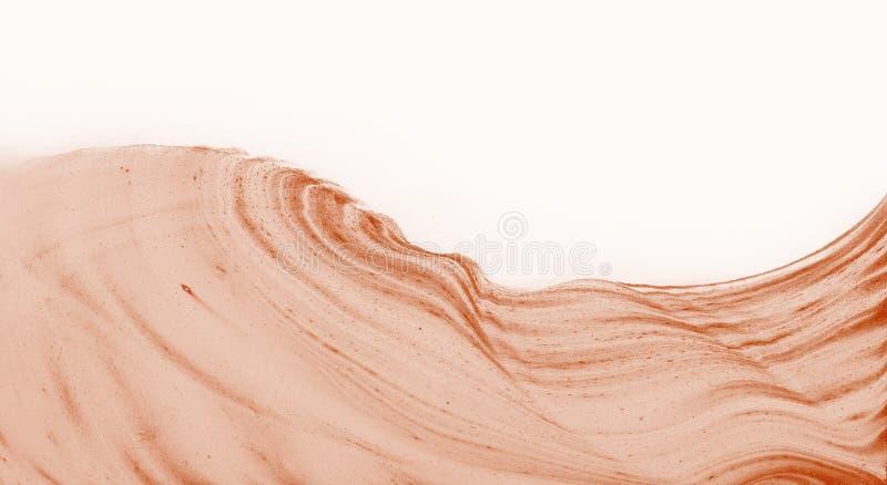Загадочная красная поверхность абстрактная картина иллюстрация штока